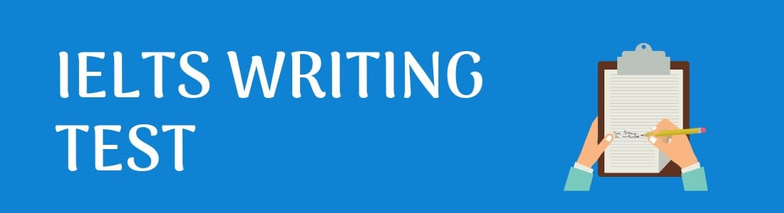 About IELTS writing test